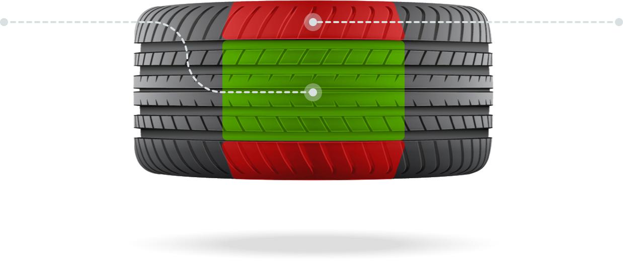 Flat tire repair graphic